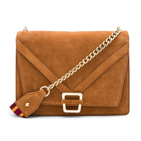 Sam Edelman Handbags - NEW Sam Edelman | Madeline Accordion Suede Purse